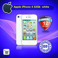 Оригинальный Apple iPhone 4 32gb white