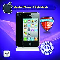 Оригинальный смартфон Apple iPhone 4 8gb black
