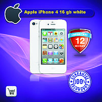 Оригинальный Apple iPhone 4 16gb white 100% original