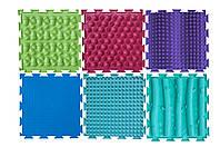 Массажный коврик Орто 25 х 25 Набор Микс 1