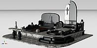 Гранитный комплекс тройной (габбро, покостовка)