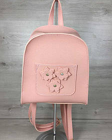 Молодежный рюкзак Цветы пудрового цвета (Арт. 44310)   1 шт.