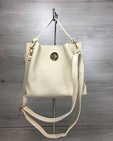 Женская сумка Одри бежевого цвета (Арт. 55409)   1 шт.