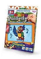 Набор Мозаика пайетки+глитер Baby Paillete 05 Danko Toys