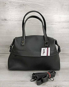 Женская сумка Ирен серого цвета (никель) (Арт. 55701)   1 шт.