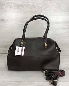 Женская сумка Ирен шоколадного цвета (Арт. 55705)   1 шт.