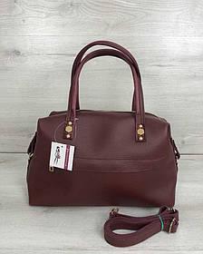 Женская сумка Ирен бордового цвета (Арт. 55707)   1 шт.