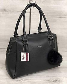 Женская сумка Агата черного цвета (Арт. 55904)   1 шт.