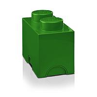 Двухточечный зеленый контейнер для хранения Lego 40021734