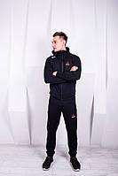 Мужской спортивный костюм Reebok UFC черный рибок юфс, фото 1