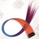 🍬✨ Цветные пряди на заколках, яркие омбре ✨🍬, фото 3