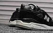 Женские кроссовки Adidas Falcon Black White топ реплика, фото 3