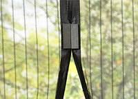 Магнитные шторы «magic mesh» Черная  Magic Mesh антимоскитная сетка