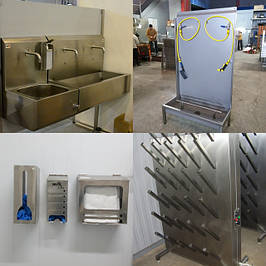 Оборудование для гигиены производства
