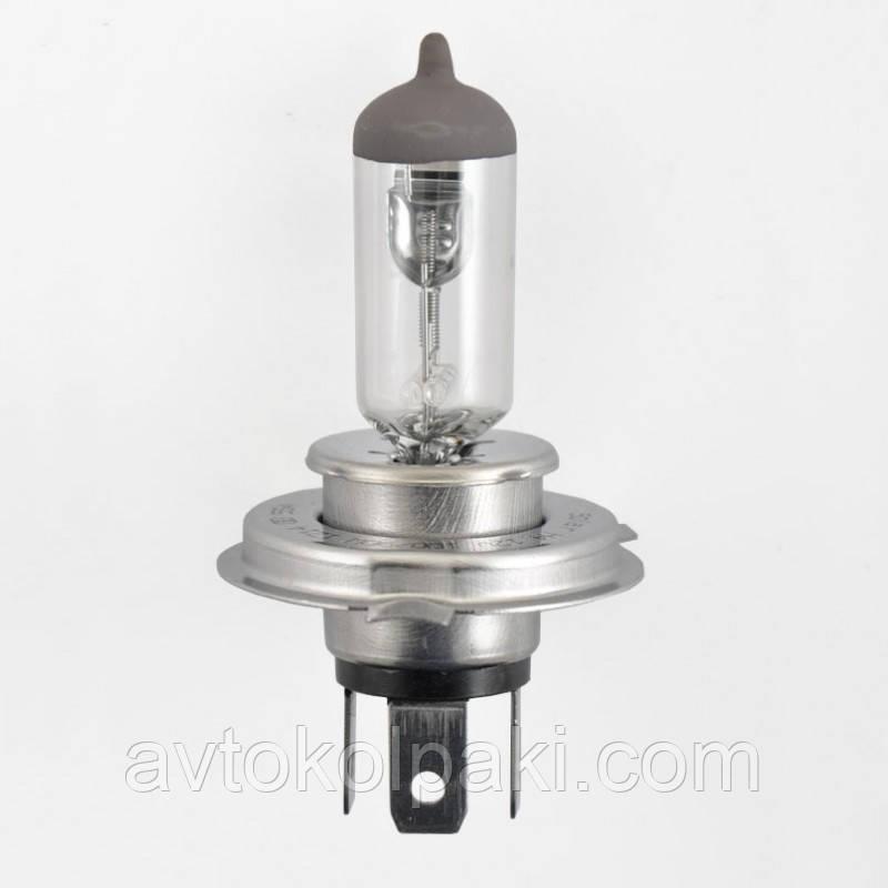 Галогенная авто лампа SOLAR H4 12V 100/90W P43t-38 Starlight+30%