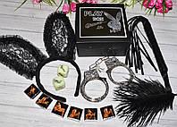 Эротический набор с наручниками Play BOX Glamour, фото 1