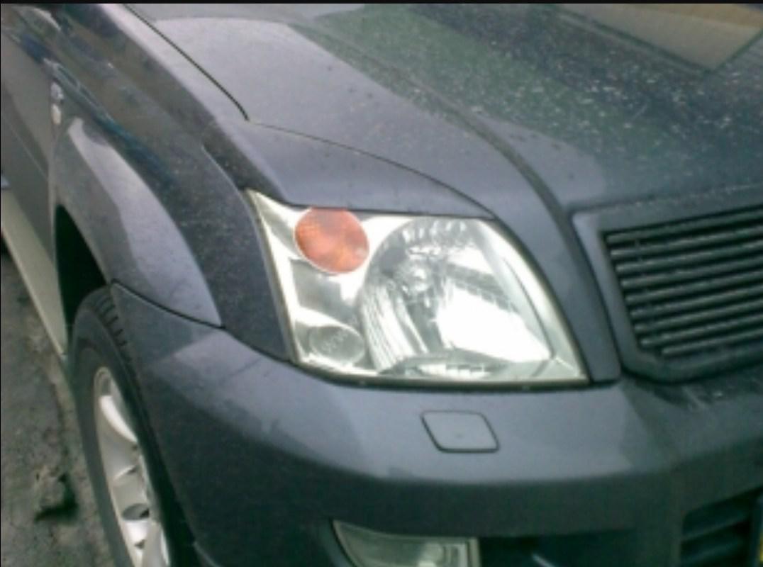 Реснички на фары Hyundai Accent(2005-2010)