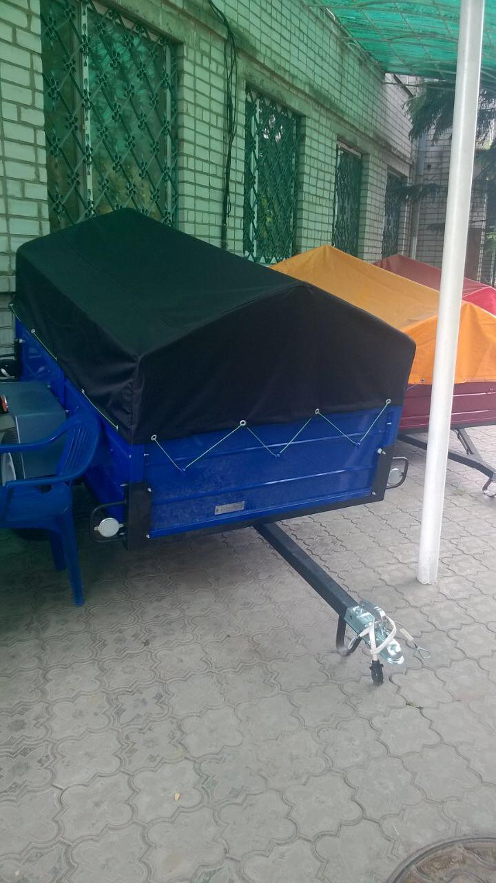 Прицепы от Кременчугского завода -производителя «Лев»