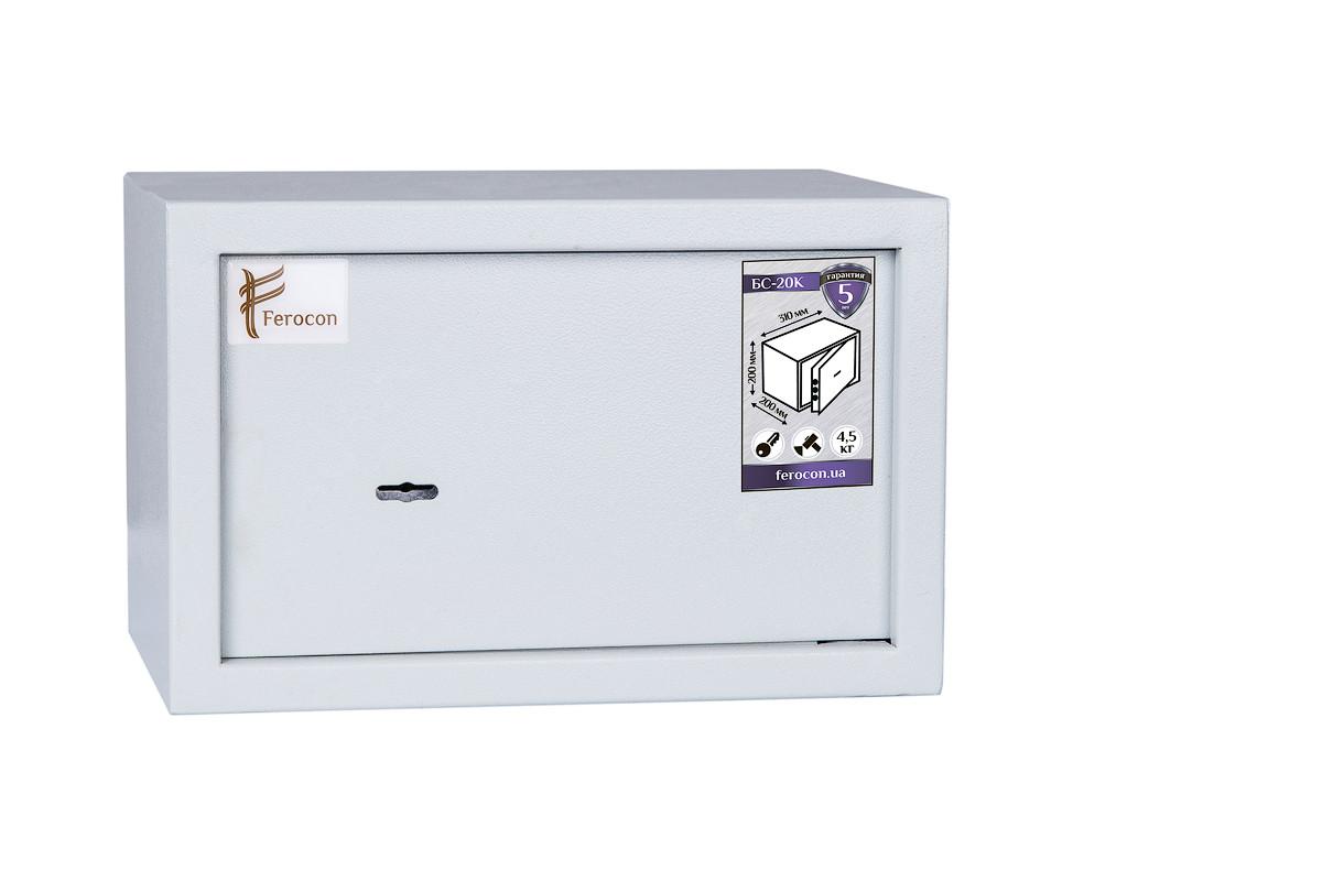 Мебельный сейф Ferocon БС-20К.7035