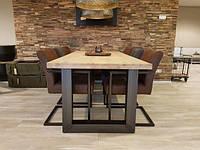 Стол Loft L-25, 2400*1000, массив ясеня или дуба. Мебель лофт