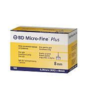 Иглы для шприц-ручек BD Micro-Fine 8 мм, 100 шт.
