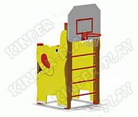 """Шведская стенка """"Слоненок"""" (с баскетбольным щитом)"""