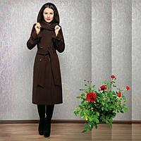 Демисезонное пальто с капюшоном Rozze 308