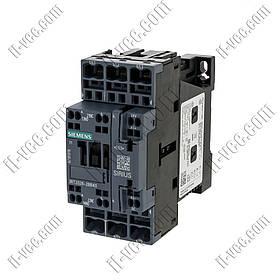 Контактор Siemens 3RT2026-2ВВ40, AC-3 11kW/400V, 1NO+1NC, 24VDC