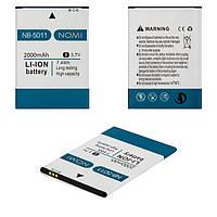 Аккумулятор (АКБ, батарея) NB-5011 для Nomi i5011 Evo M1, 2000mAh, оригинал
