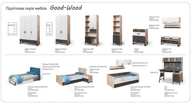 Серия Good Wood (ассортимент мебели)