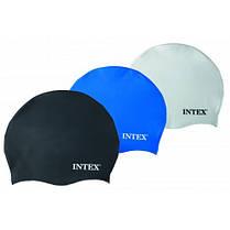 Шапочка для плавания Intex  от 8 лет (12 шт/уп)