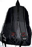 Рюкзак женский текстильный с бабочкой. Черный, фото 7