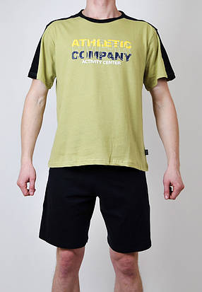 Мужская пижама (футболка + шорты), фото 2