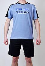 Мужская пижама (футболка + шорты)