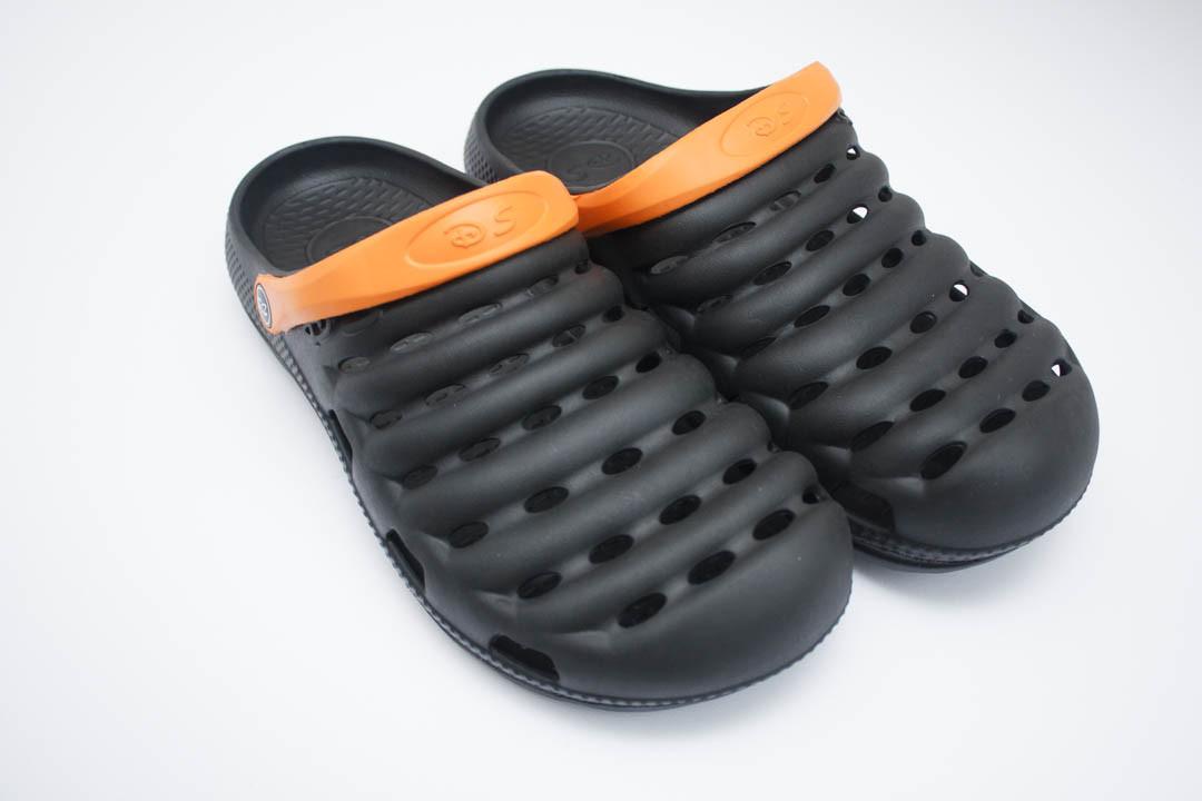 Мужские Сабо  (Код: Сабо 3 черн-оранж )