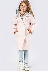 Десткое весеннее кашемировое пальто