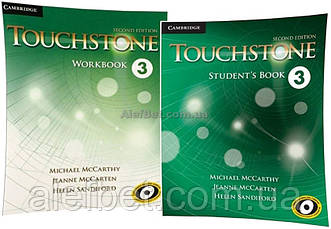 Английский язык / Touchstone / Student's+Workbook. Учебник+Тетрадь (комплект), 3 / Cambridge