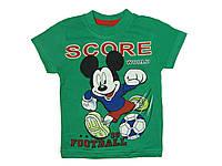 Детская футболка для мальчика Mikki, зеленая