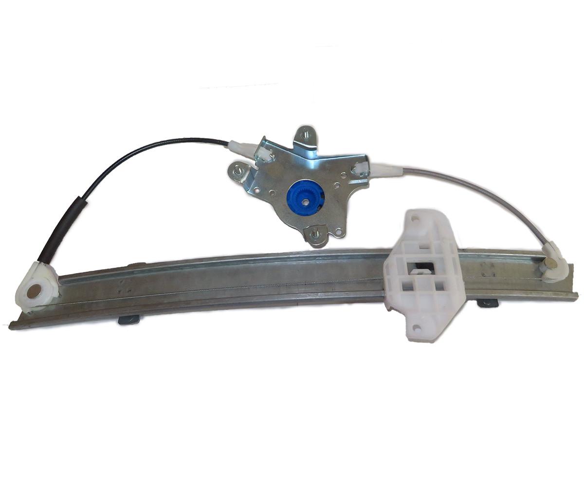 Рамка стеклоподъемника передн правая Ланос (шестерня) электрическая, 96430501
