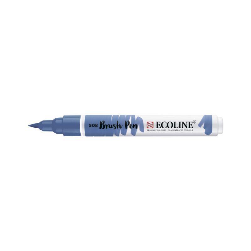 Ручка-кисточка Royal Talens Ecoline Brushpen 508 Прусская синяя 8712079388799