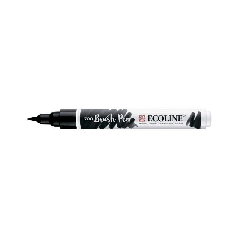 Ручка-пензлик Royal Talens Ecoline Brushpen 700 чорний 8712079388942
