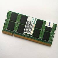 Оперативная память для ноутбука Apacer SODIMM DDR2 2Gb 800MHz 6400 CL5 (75.A73AM.G06) Б/У