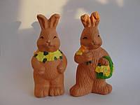 Кролики с цветами! Пара!, фото 1