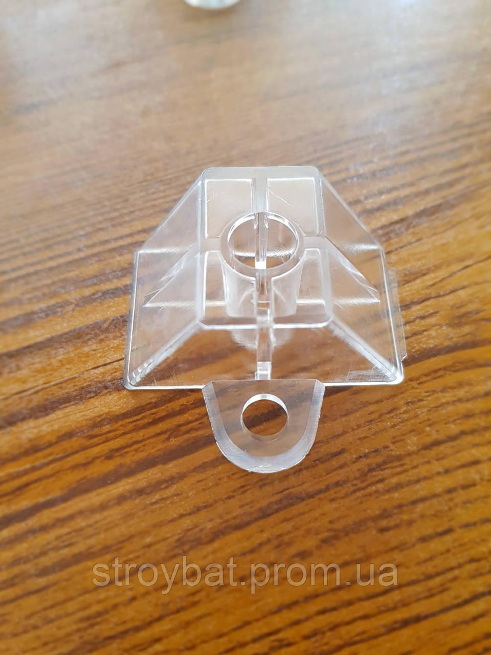 Крепеж для прозрачного шифера трапеция