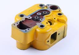 Головка блока цилиндра голая DLH1100 (Xingtai 160)