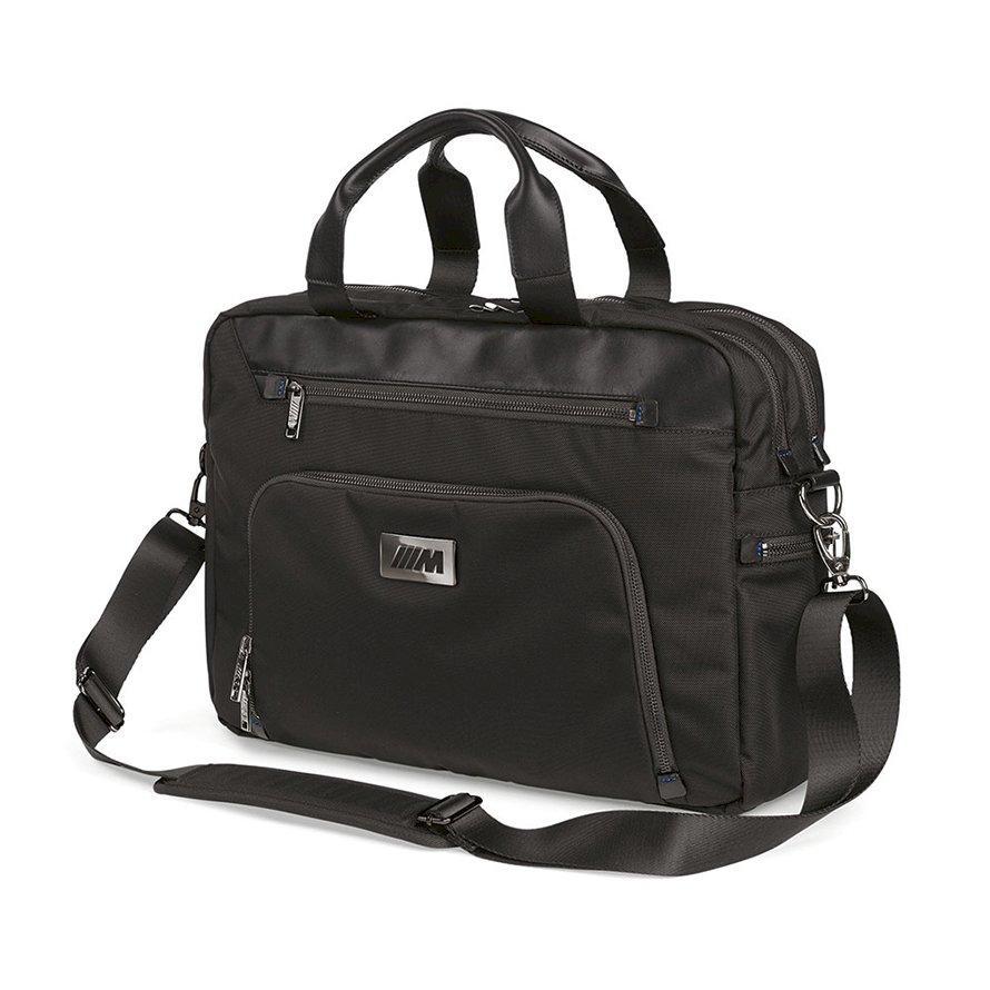 Деловая сумка BMW M Business Bag, Black, артикул 80222454768