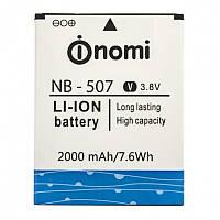 Аккумулятор (АКБ, батарея) NB-507 для Nomi i507 Spark, 2000mAh, оригинал
