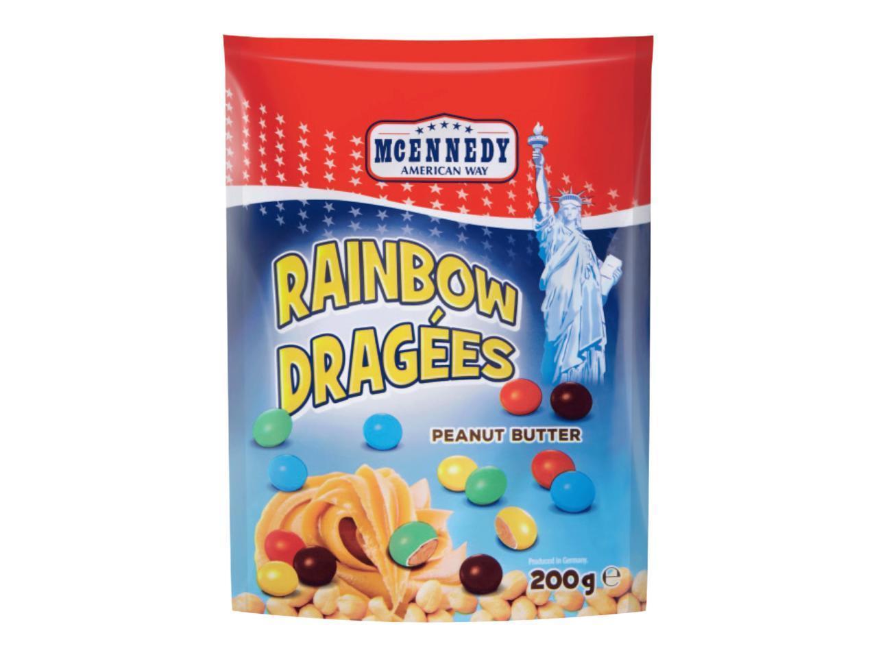 Драже Mcennedy Rainbow Dragees Peanut Butter