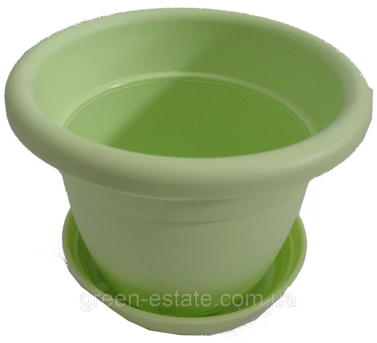 Вазон Антик 15 1,7 л салатовый