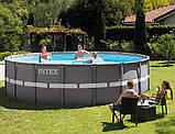 Intex 26324 - каркасный бассейн Ultra Frame 488x122 см, фото 2